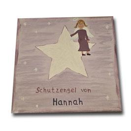"""Schutzengelbild """"Hannah"""""""