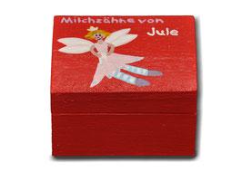 "Milchzahndose ""Zahnfee Rot"""