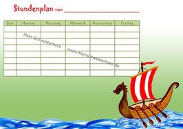 """Stundenplan """"Wikingerschiff"""""""