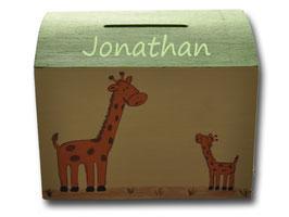 """Spardose """"Giraffen"""""""