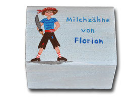 """Milchzahndose """"Pirat"""""""