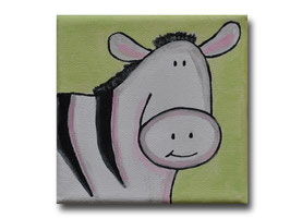 """Mini-Bild """"Zebra"""""""