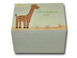 "Milchzahndose ""Giraffe"""