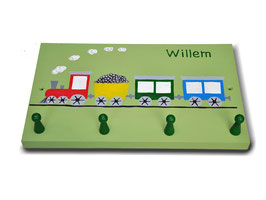 """Mittlere Garderobe """"Eisenbahn"""""""