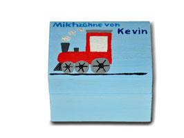 """Milchzahndose """"Lokomotive"""""""