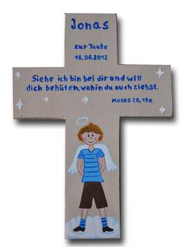 """Schutzengelkreuz """"Jonas"""""""