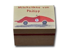 """Milchzahndose """"Rennwagen"""""""