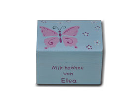 """Milchzahndose """"Schmetterling"""""""
