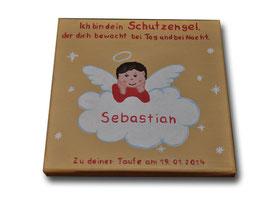 """Schutzengelbild """"Sebastian"""""""