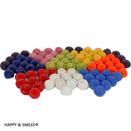 Mr.SMILES Farben-Set uni