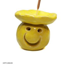 Mr. SMILES Smoker, Räuchermännchen uni-farben ohne Räucherstäbchen