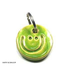 "Mr.SMILES Schlüsselanhänger Single, ""grün"""
