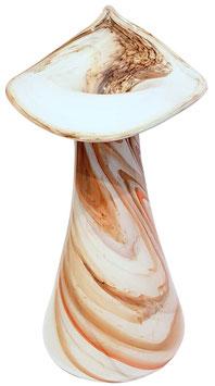 Vase modern groß verziert Höhe ca. 32 cm bis 35 cm in verschiedenen Farben ohne Glasblumen