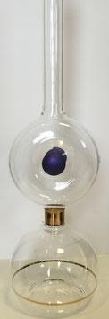 Flasche, Glaskaraffe 0,3 L. Höhe 290 mm mundgeblasenes Kristallglas in verschiedenen Farben