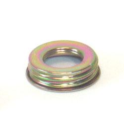Ersatz `Ring mit Verschraubung für Öllampe mit Spiegel 8´ Messingfarben, Höhe 32,5 cm Innengewinde ca 35 mm