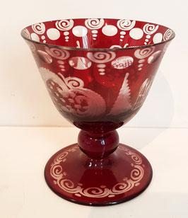 original alter Egermann Liköglas, Sherry Glas  Höhe ca 78 mm, sehr gute Zustand