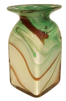 Vase eckig Höhe ca. 20 cm in verschiedenen Farben