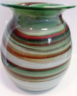 Vase oval Höhe ca 18 cm in verschiedenen Farben