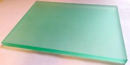 Anreibescheibe für Pigmentfarben Anreibescheibe zum Anreiben von Pigmenten. Ausführung 250 mm x 320 mm, 15 mm Stärke