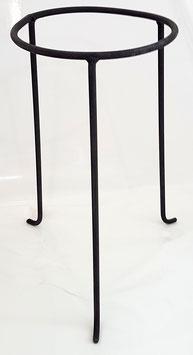 Metallständer groß für Vasen, Öllampen Blumenkränze, Amphoren schwarz Höhe 36 cm obere Innen Ø 17,5 cm