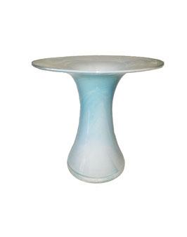 Vase X Form tailiert modern Höhe ca. 19 cm in verschiedenen Farben