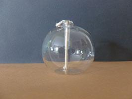 Öllampe zum hinstellen klar Höhe 36 mm, Durchmesser 40 mm
