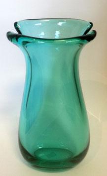 Vase grün oder blau Höhe ca 29 cm