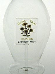 Karaffe, Flasche 0,5 L. mit Ihrem Firmenlogo nach Vorlage ab 50 Stück