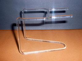 Glasständer für Schluckspecht, Höhe ca 70 mm Länge ca.90 mm