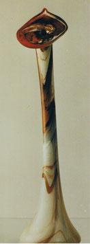 Bodenvase schmal moderne Form Höhe ca 65 cm in verschiedenen Farben