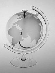Öllampe Erde am Ständer Höhe 150 mm