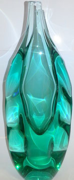 Vase grün oder blau Höhe ca 26 cm