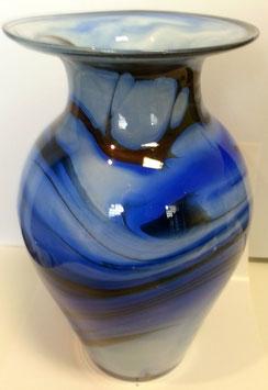 Vase groß ovale Form Höhe ca 26 cm in verschiedenen Farben