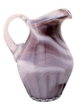Glaskrug antiker Stil bauchige Amphore mit Henkel optisch Höhe ca. 26 cm in verschiedenen Farben