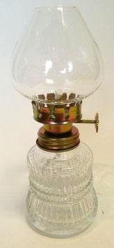 Öllampe Höhe 145 mm, für Runddocht 3 mm, mit mundbeblasenem Zylinder