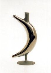 Flasche Mond goldsilber 0,1 L.