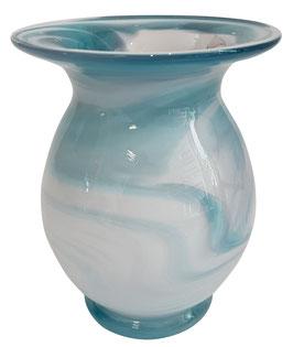 Vase bauchig Höhe ca. 15 cm in verschiedenen Farben