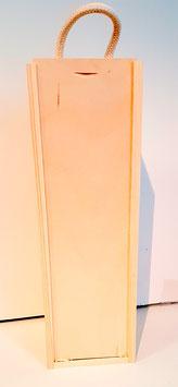 Geschenke Holzbox passend für unsere Glaskaraffen für 1 Karaffe oder dekorative Flasche
