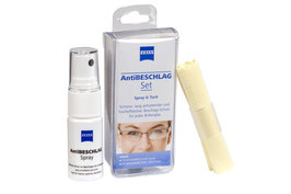 ZEISS AntiBESCHLAG Set (Spray 15ml + Tuch)