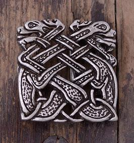 Gutschnalle Keltische Hunde