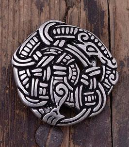 Gurtschnalle Midgardschlange im Urnes Stil