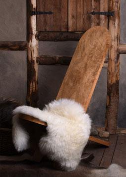Steckstuhl aus Hartholz