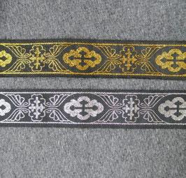 Kreuz und Flügel glänzend