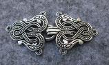 Verschluss keltische Schlange