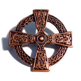 Brosche Keltisches Kreuz