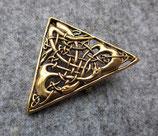 Keltische Dreiecksbrosche
