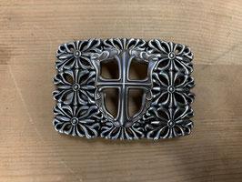 Gurtschnalle Kreuz filigran