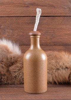Docht - Einsatz für Tonflasche
