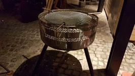 """Feuerschale hoch """"Keltisches Muster"""""""