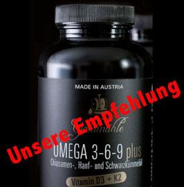 Omega 3-6-9 plus Öl-Kapseln